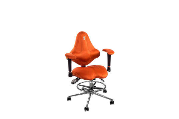 Кресло KIDS морковный