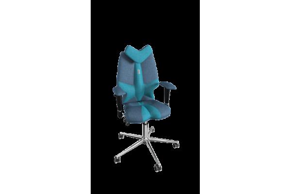 Кресло FLY джинс-бирюзовый