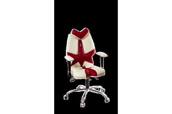Кресло FLY белый-красный
