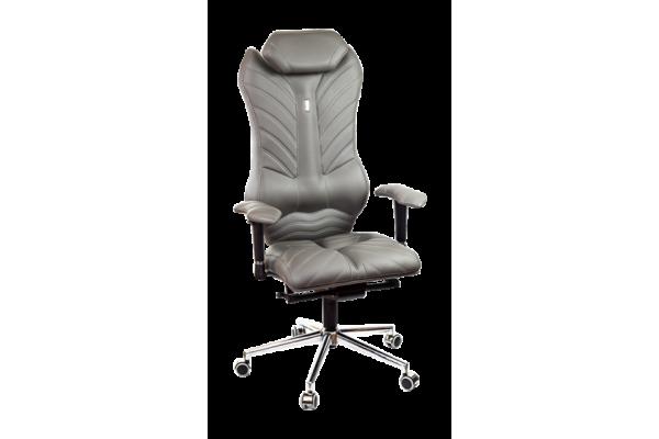 Кресло MONARCH серый графит