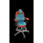Кресло TRIO морковный-бирюза